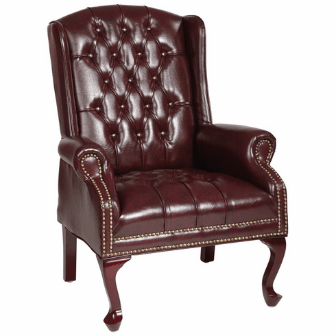 Fabulous Work Smart Queen Ann Traditional Accent Chair Tex234 Ibusinesslaw Wood Chair Design Ideas Ibusinesslaworg