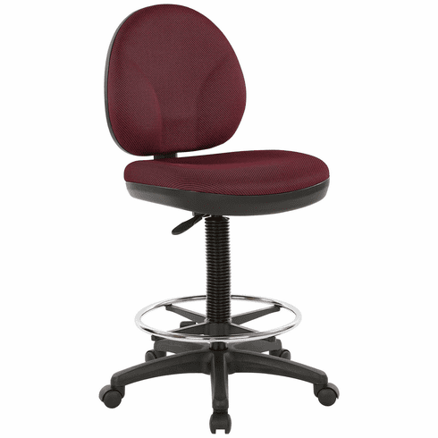 Work Smart Sculptured Seat And Back Drafting Chair Dc550