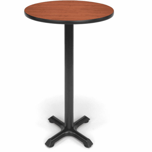 "X-Pedestal Base Cafe Table 24"" Round Top [XTC24RD]"