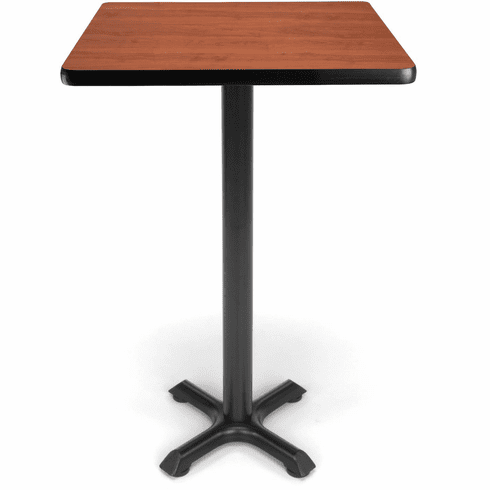 "X-Pedestal Base Cafe Table 24"" Square Top [XTC24SQ]"