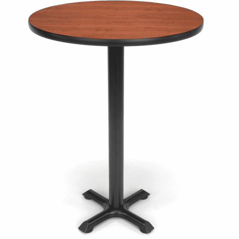 "X-Pedestal Base Cafe Table 30"" Round Top [XTC30RD]"
