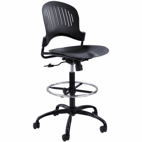 Zippi Office Work Stool by Safco [3386BL]