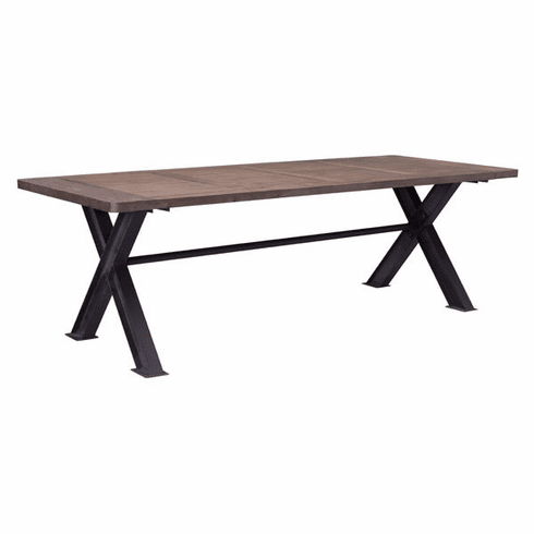 Zuo Haight Ashbury Conference Table Distressed [98162]
