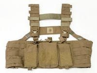 Blowout Mayflower 7.62 Hybrid Chest Rig - Modified Harness - Coyote