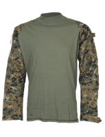 Sold Out Tru-Spec TRU Combat Shirt - Gen II - Woodland Digital - XL Long