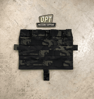 Crye Precision AVS Detachable Flap M4 Flat - Multicam Black