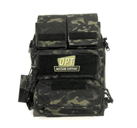 Crye Precision Pouch Zip-On Panel 2.0 - Multicam Black