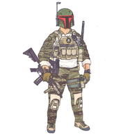 Duck Bill Designs Mandalorian JTAC Sticker