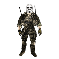 Duck Bill Designs Storm Trooper JTAC Sticker