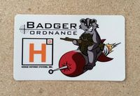 Hodge - Badger Owner's Group Sticker