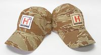 Hodge Defense Desert Tiger Stripe Patch Hat