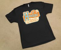 Hodge Defense Retro Sign Logo Tee Distressed