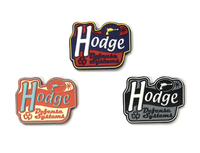 Hodge Defense Sign Logo PVC