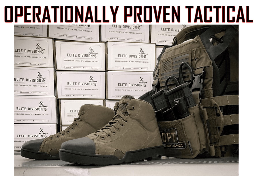 OPERATIONALLY PROVEN TACTICAL GEAR High quality, Operator tested gear