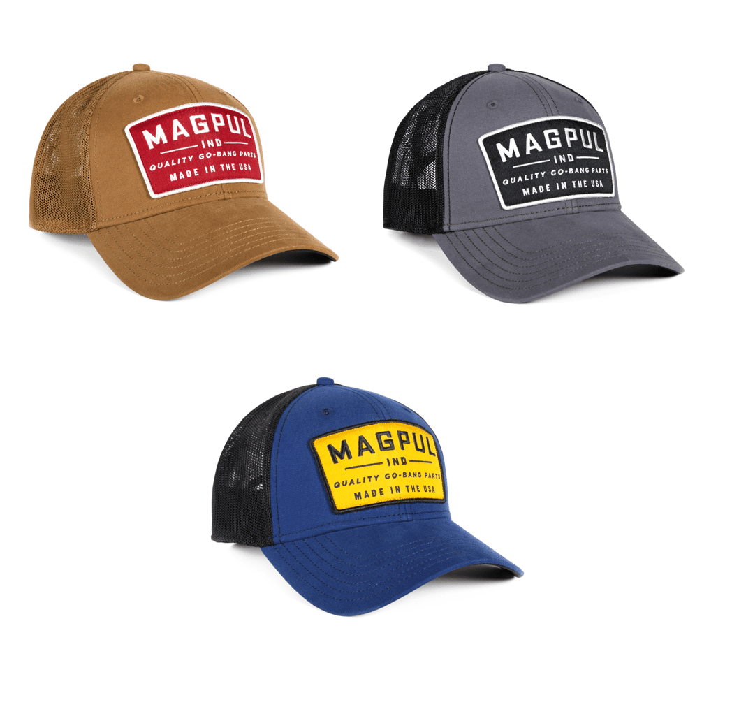 online retailer classic fit new release Magpul Go Bang Mid Crown Snapback Hat