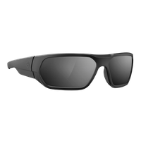 Magpul Radius - Black Frame - Polarized Gray Lens - Silver Mirror - Ballistic Rated