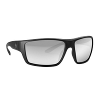 Magpul Terrain - Black Frame - Polarized Gray Lens - Silver Mirror - Ballistic Rated