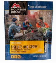 Mountain House Biscuits and Gravy - Pouch