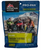 Mountain House Chicken Teriyaki with Rice - Pro-Pak