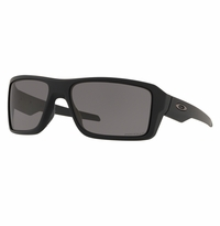 Oakley SI Double Edge Matte Black - Prizm Grey Polarized Lens