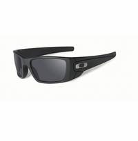 Oakley SI Fuel Cell Cerakote Graphite Black - Black Iridium Polarized Lens