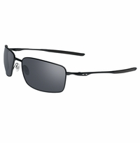 Oakley Square Wires Polished Black - Black Iridium Lens