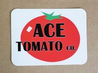 OPT Ace Tomato Co Sticker - Large