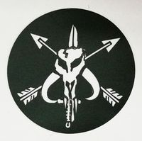 OPT Mandalorian SOF Sticker