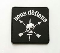 OPT Nous Defions PVC Patch - Glow in the Dark