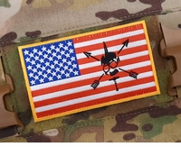 OPT SF Assaulter US Flag Patch 3 x 5 Inch
