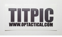 OPT TITPIC Sticker