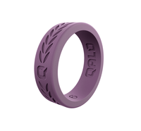 QALO Womens Laurel Silicone Ring