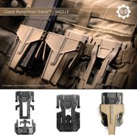 S&S Precision Gear Retention Track System (GRT)