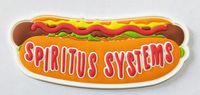 Spiritus Systems Limited Edition  PVC Hot Dog Patch