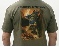 Velocity Systems Thin the Herd Mens Tee