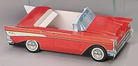 57 Chevy Bel Air  Classic Car Nostalgic Candy Gift Box
