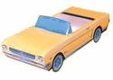 64 1/2 Mustang Classic Crusier Retro Candy Box