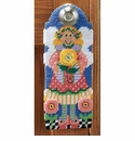 Angel Door Knob Hanger Plastic Canvas Kit