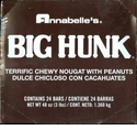 Big Hunk Candy Bar