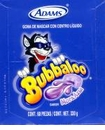 Bubbaloo  Blueberry Gum -  Mexican Candy