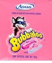 Bubbaloo Tutti Frutti Bubble  Mexican Gum
