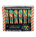 Cherry Flavored Candy Canes