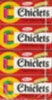 Chiclets Fruit Gum