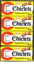 Chiclets  Peppermint Gum