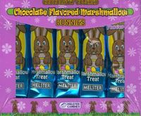Chocolate Covered Chocolate Marshmallow Bunnies