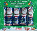 Chocolate Covered Marshmallow Santa's
