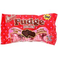Chocolate Fudge Filled  Hearts