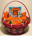 Christmas Candy Baskets, Candy Filled Stockings and Gifts