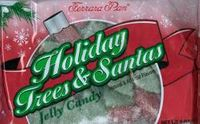 Christmas Trees and Santa Jelly Candy