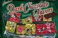 Dark Chocolate Christmas Candy Presents